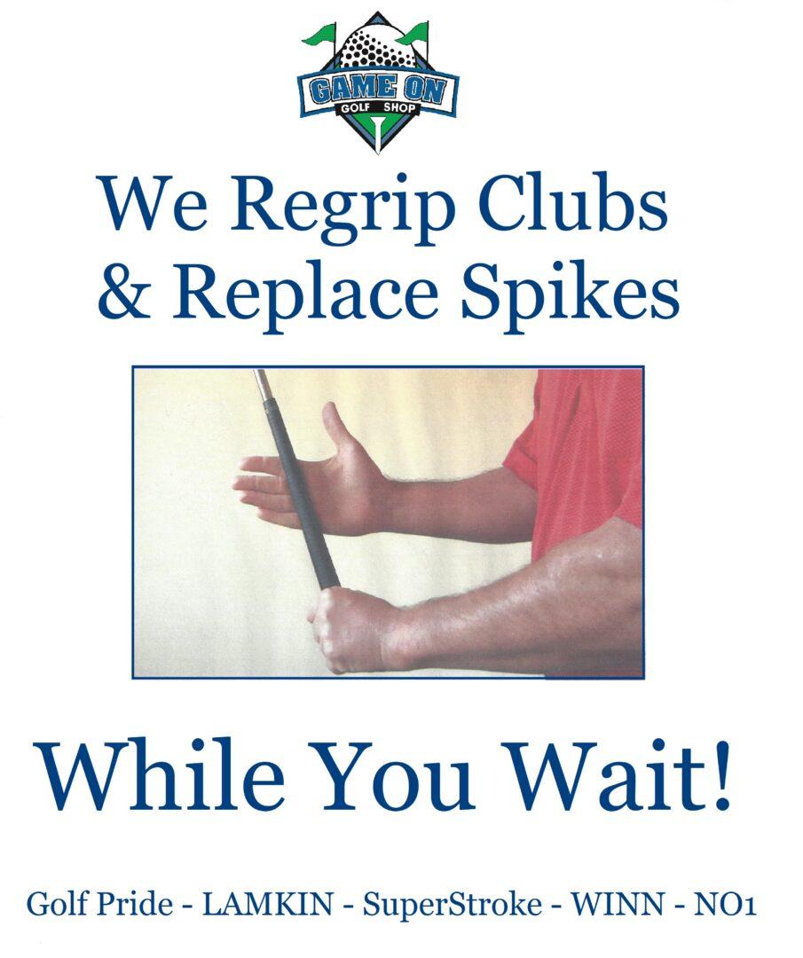 Regrip Clubs