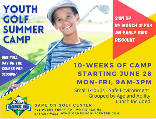 Summer camp flyer 2021