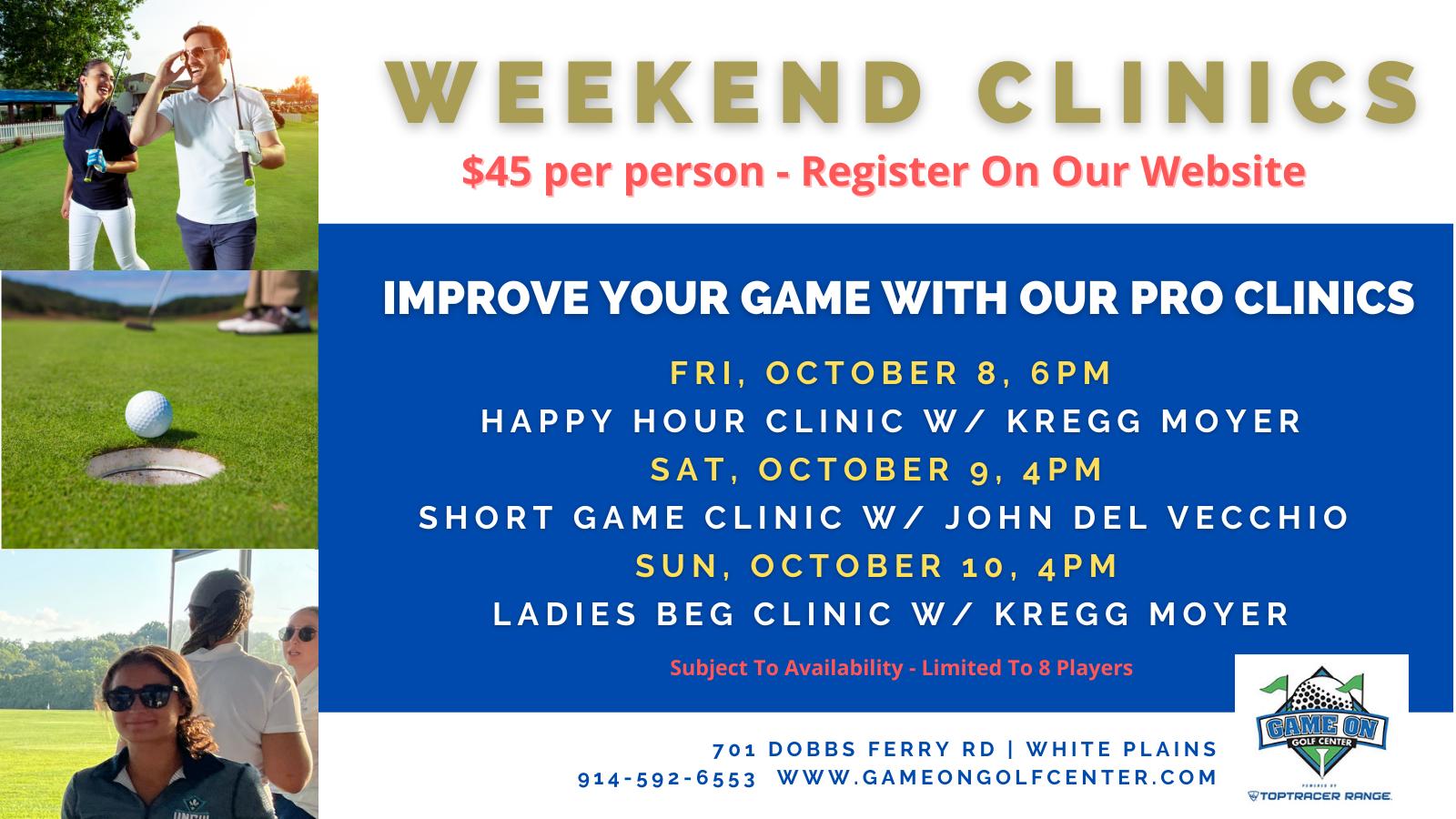 GOGC Adult Clinics OCT 8-10 TW